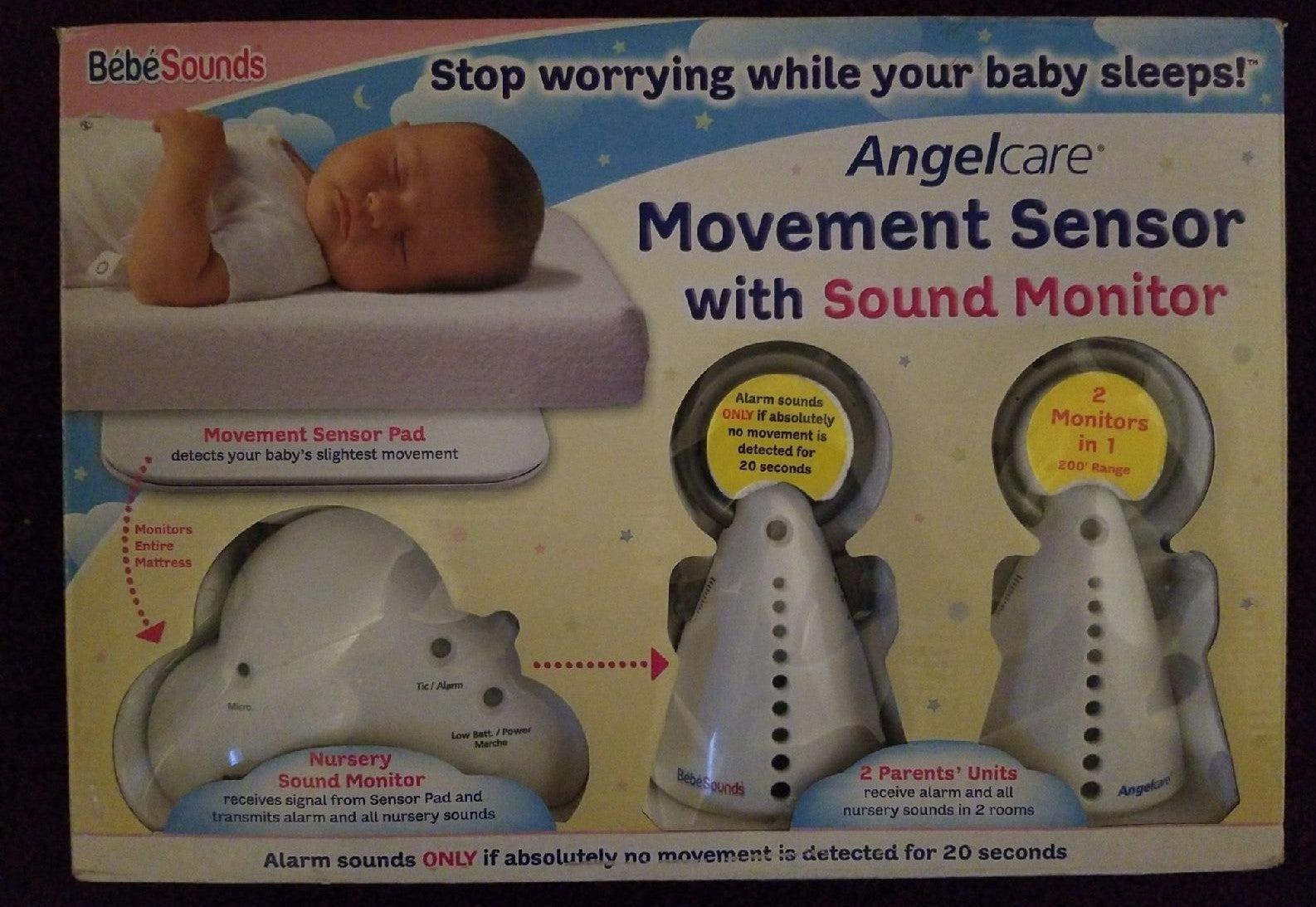 AngelCare Movement Sensor w/ Sound Monit