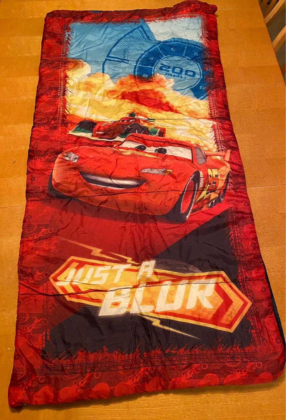 Disney Lightning McQueen Sleeping Bag