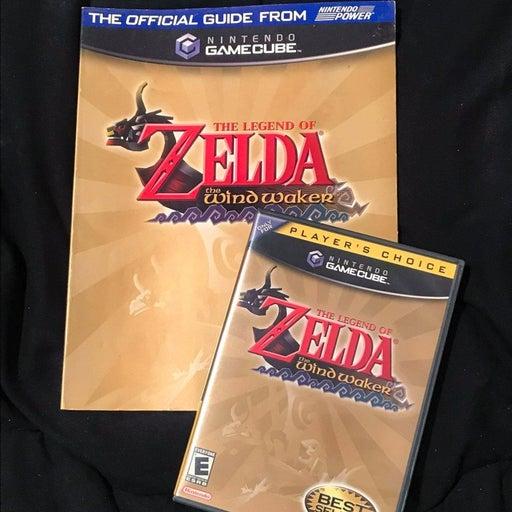 Legend of Zelda: The Wind Waker + Book
