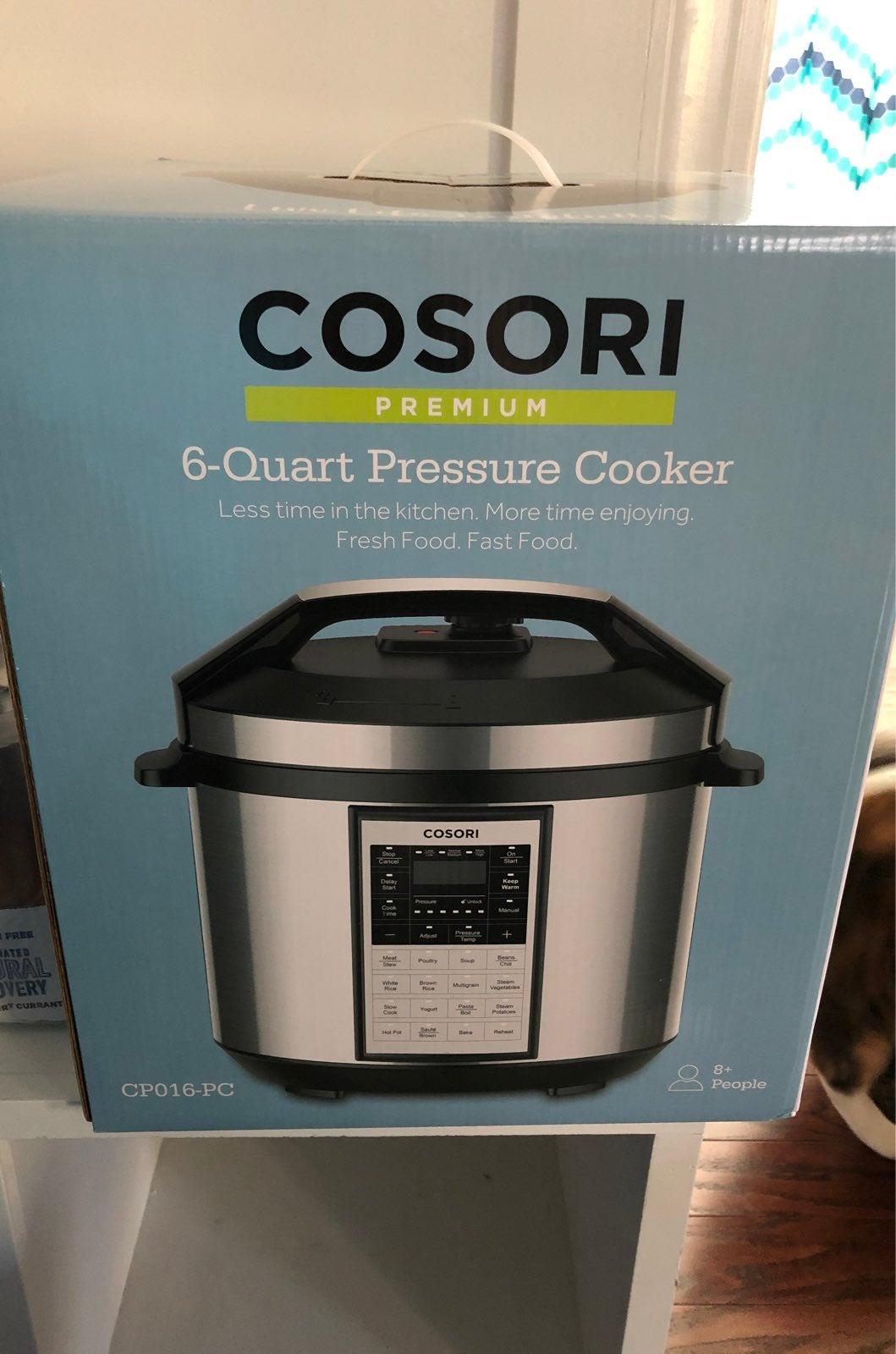 Cosori 6 Qt Pressure Cooker