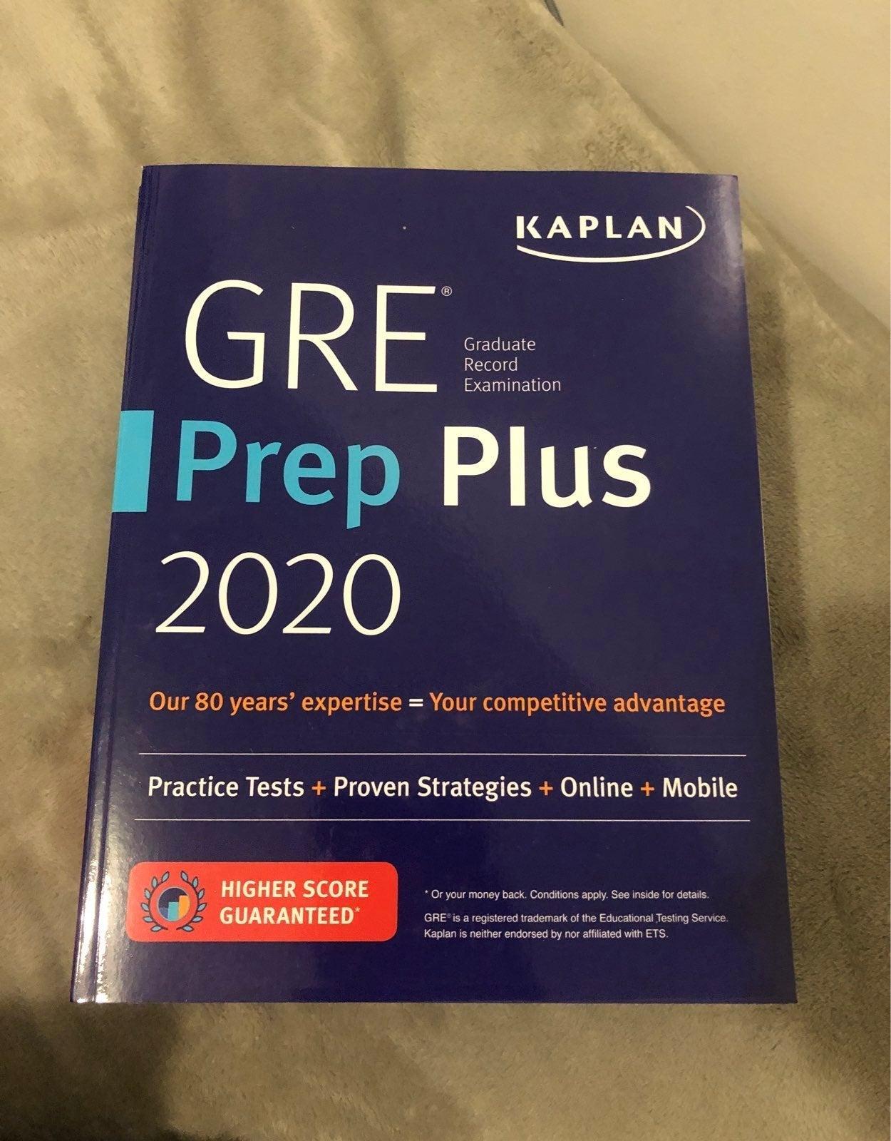 Kaplan GRE Prep Books