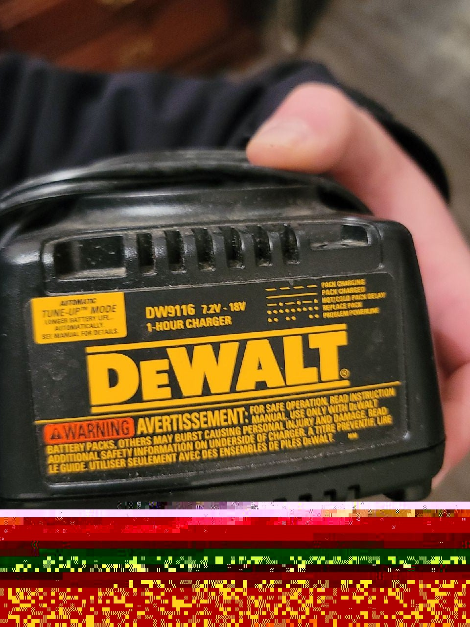 DEWALT Battery Charger Dock DW9116  9.6V