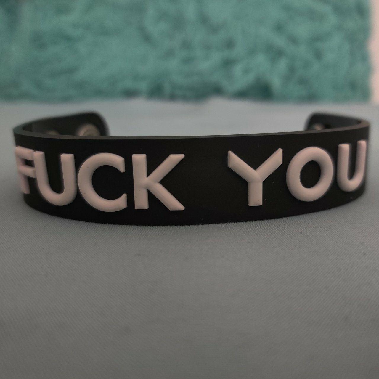 Fck You bracelet
