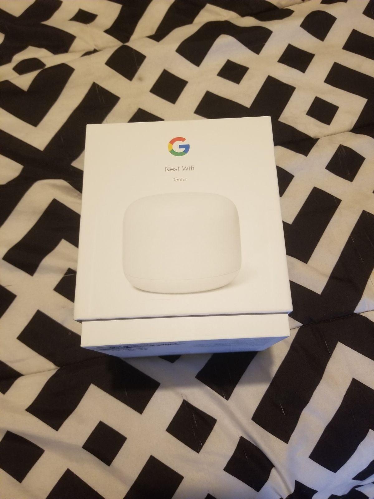 Google home nest router