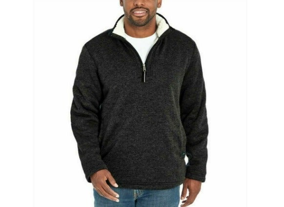 NWT Orvis Sherpa-Lined 1/4-Zip Pullover