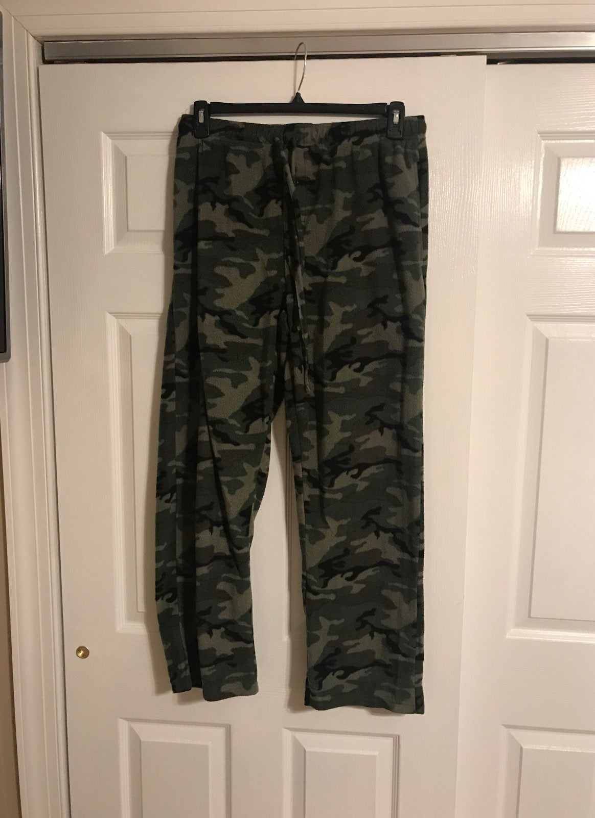 Men's fleece camo Pajama pants