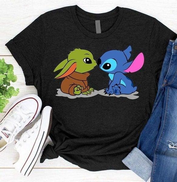 Yoda Stitch Baby Yoda Star Wars Disney Stitch