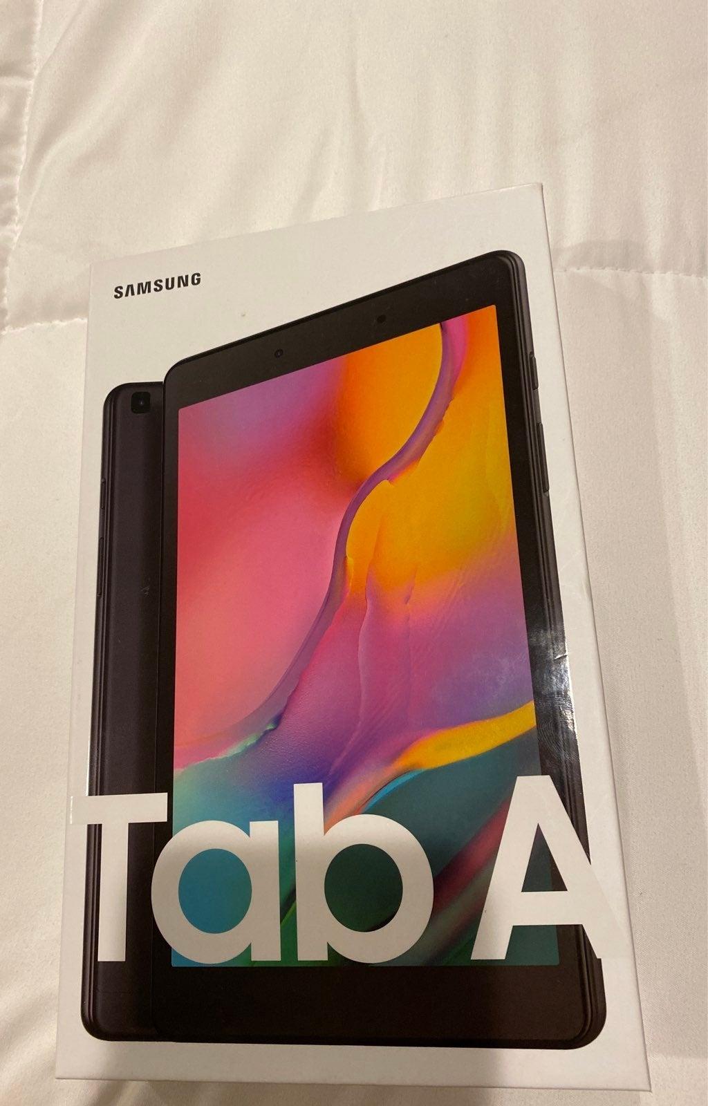 Galaxy Tab A 8 .0 Black 32 GB NEW