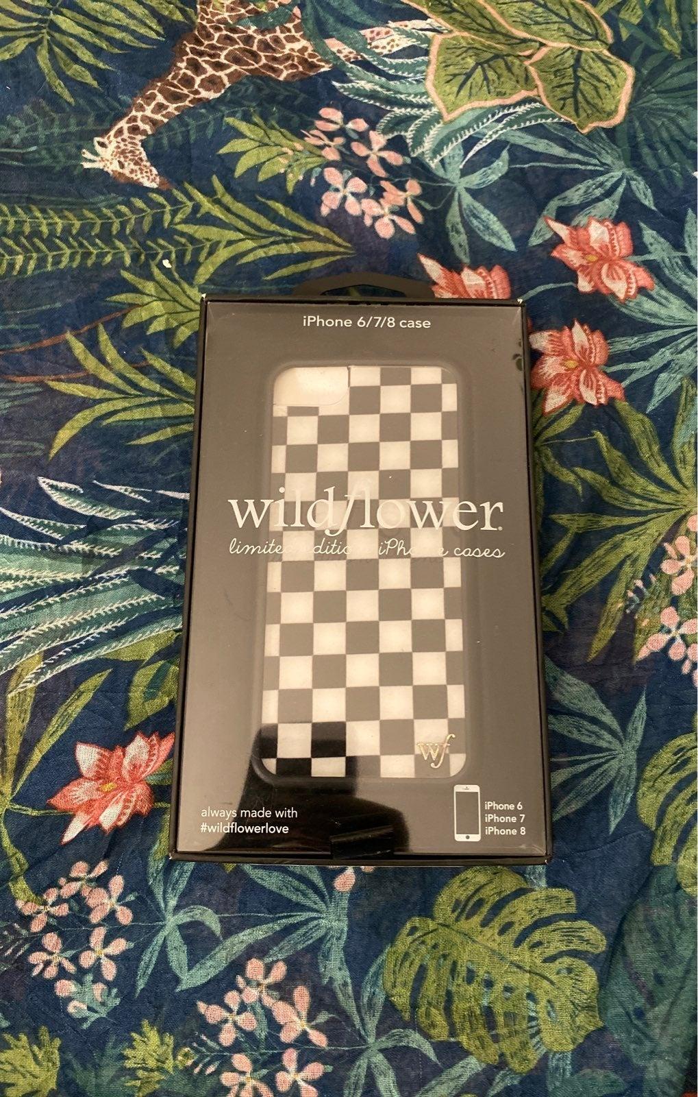 wildflower case iphone 6 7 8