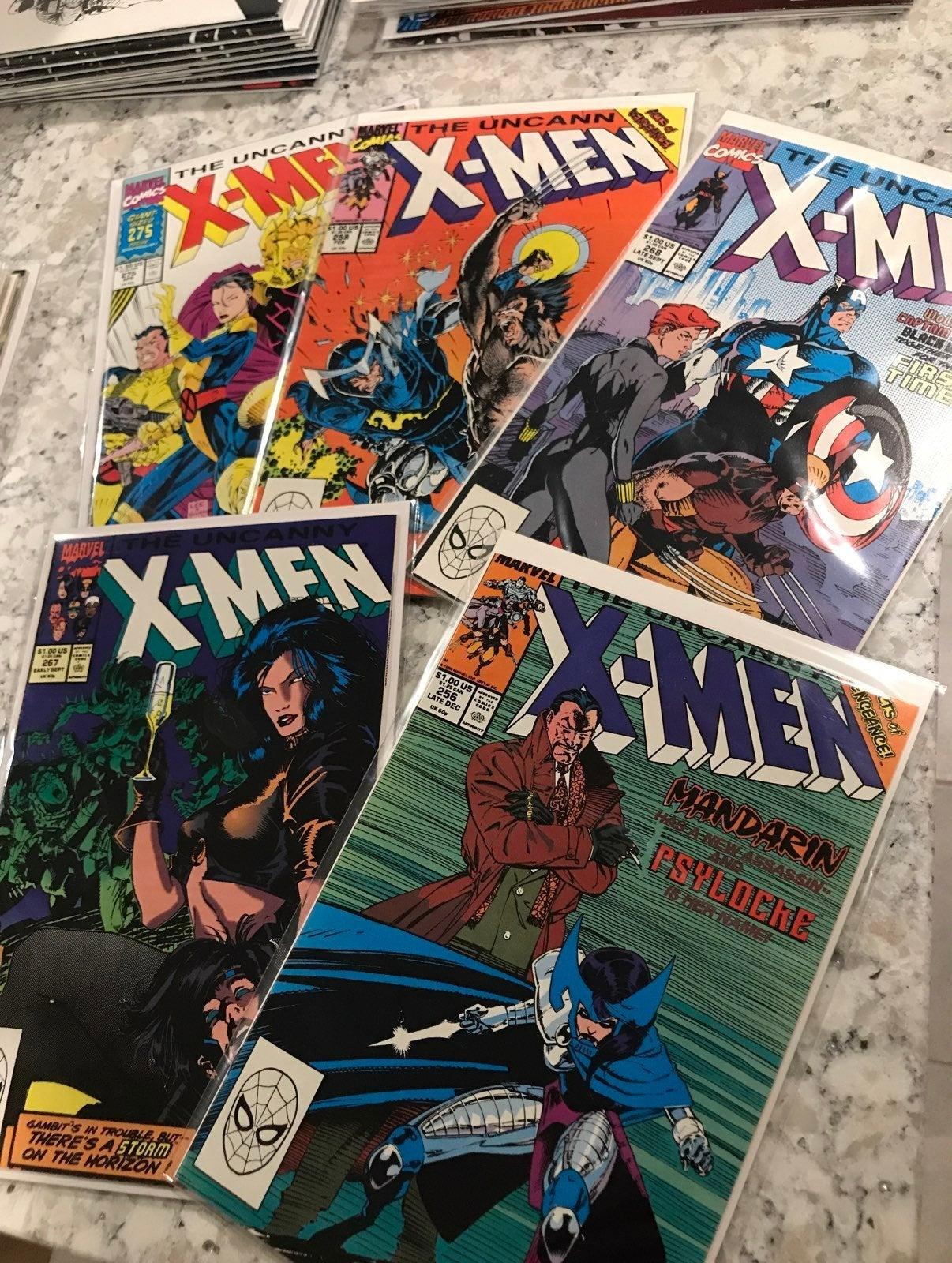 X-Men lot-All the KEY Jim Lee covers! HG