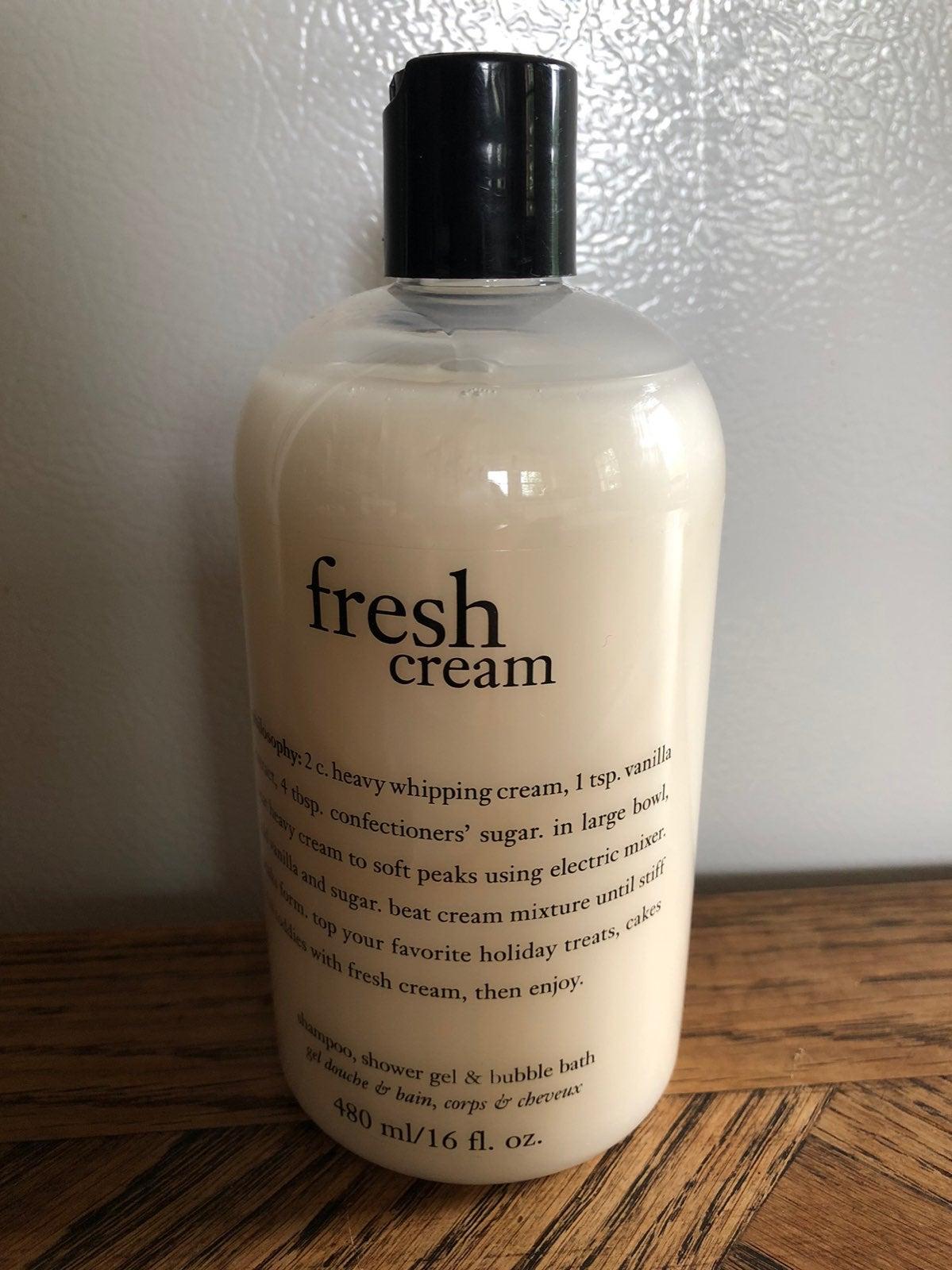 NWT Philosophy Fresh Cream 3 in 1