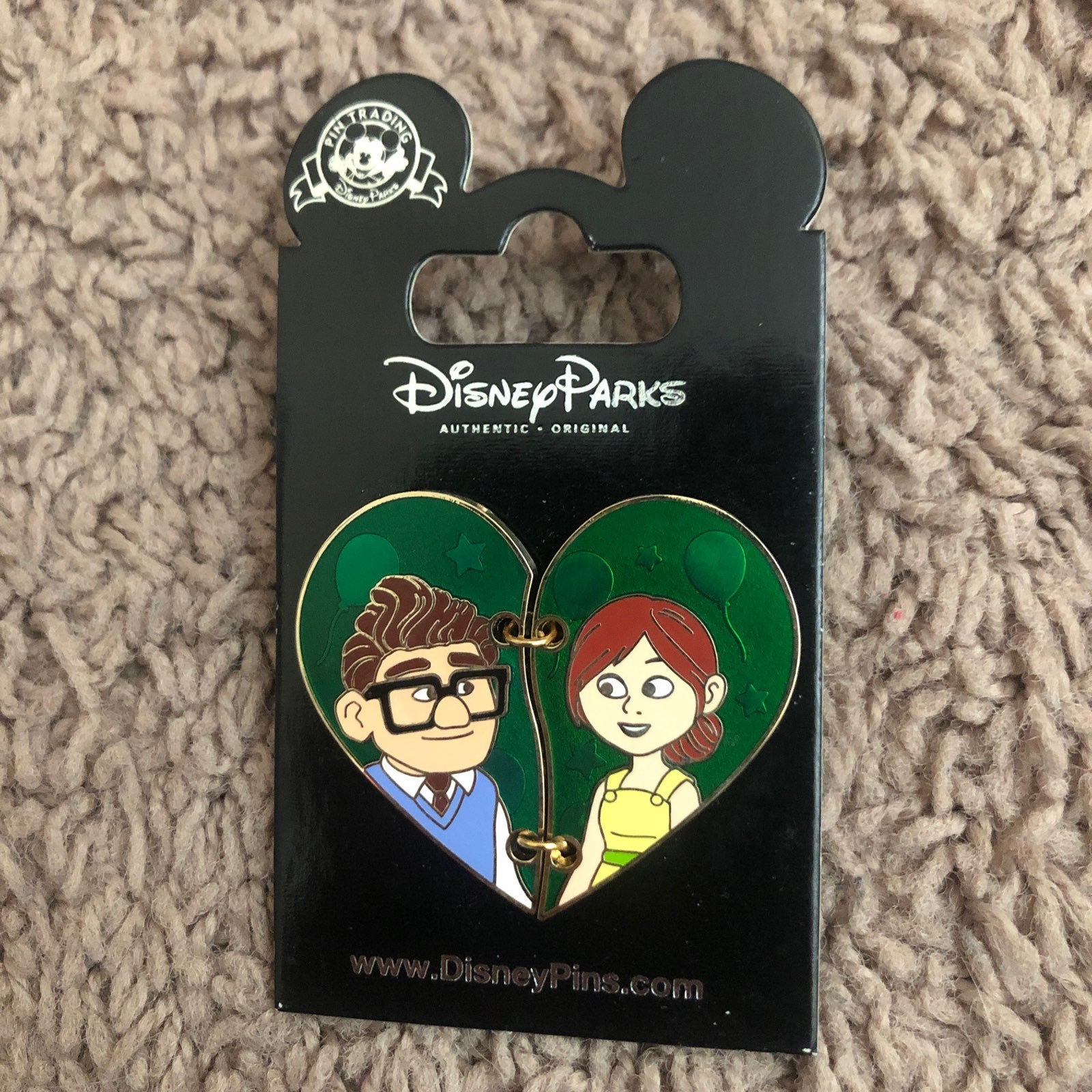 Carl and ellie pin