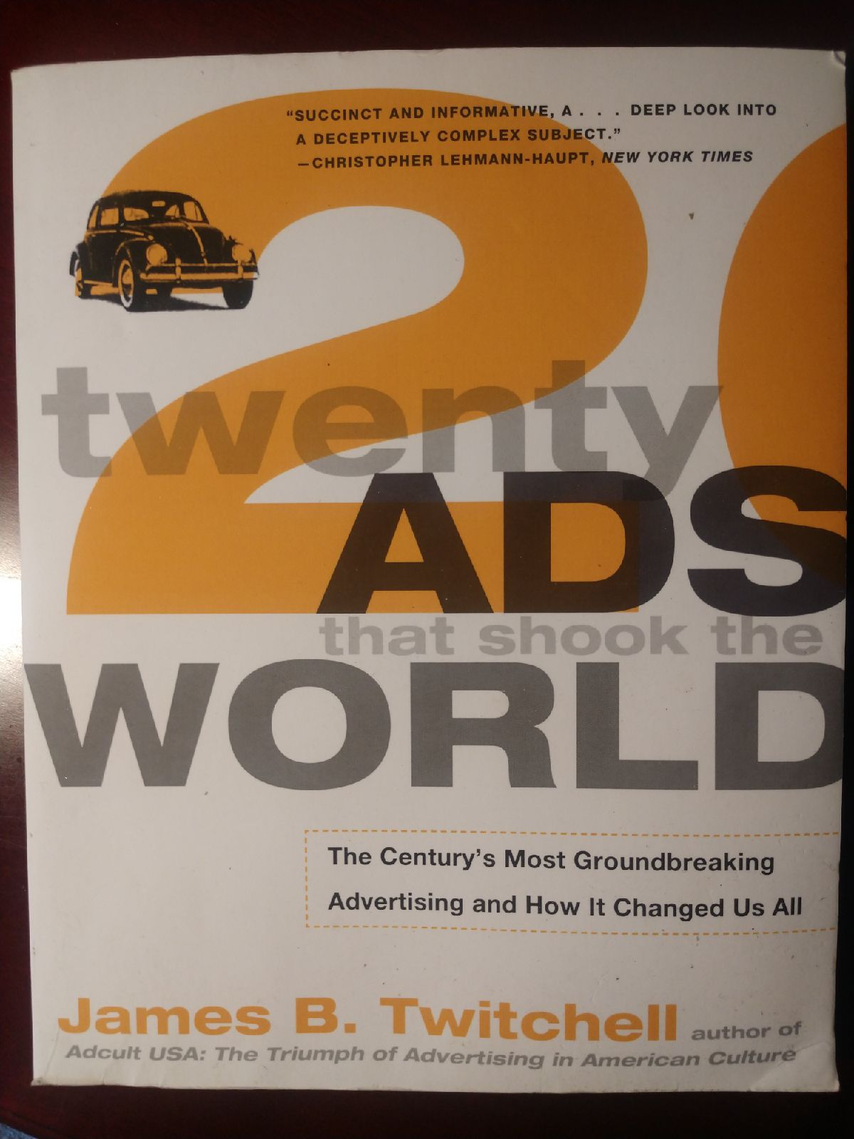 Book - twenty ads that shook the world