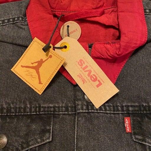 Air Jordan Levis Reversible denim jacket
