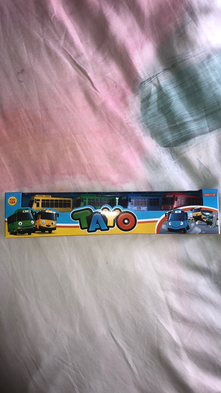 NEW Tayo The Little Bus Pull Back Toys