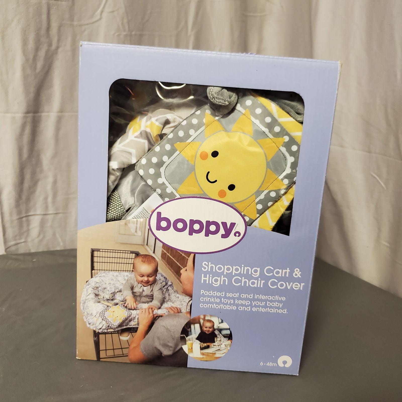 NWT Boppy shopping cart/highchair cover