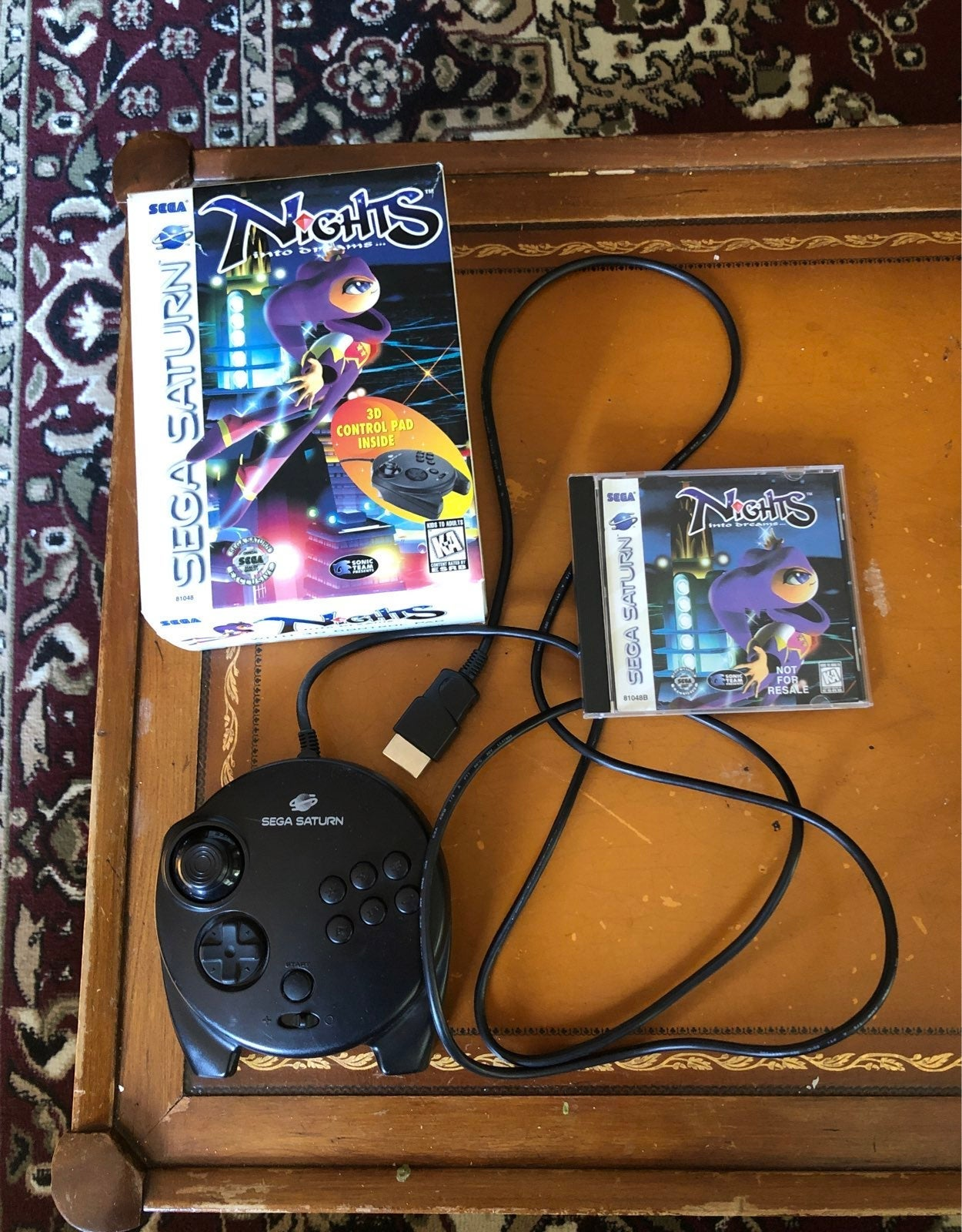 Nights into Dreams... on Sega Saturn