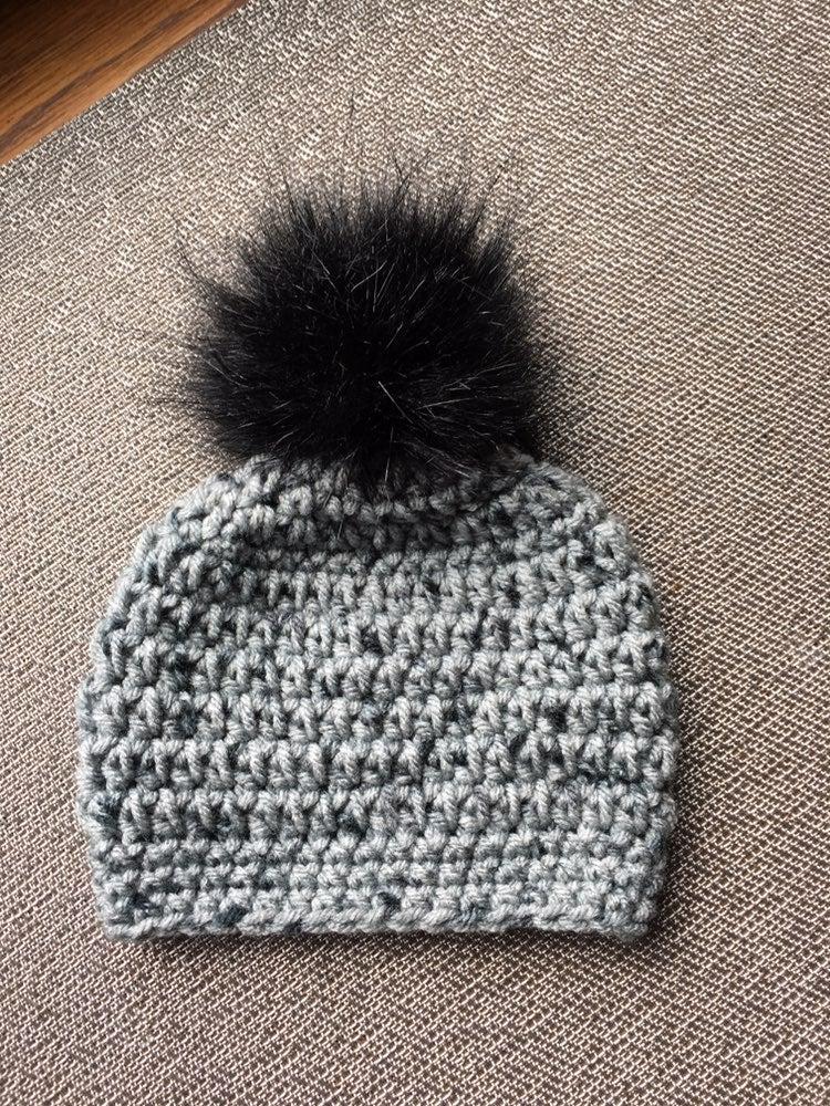 Newborn Gray Winter Hat