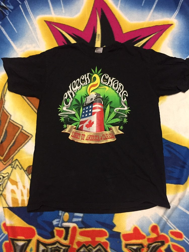 2008 Cheech And Chong tour tee