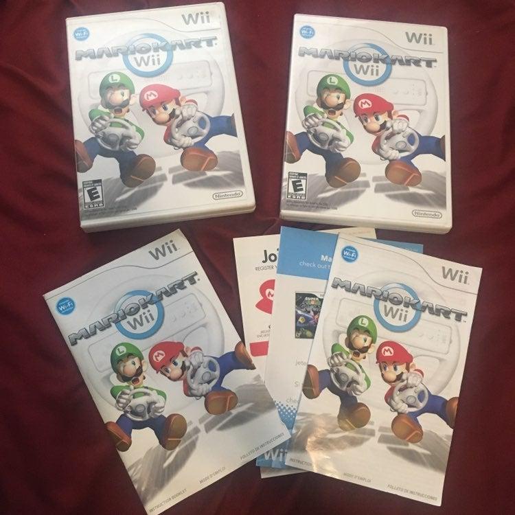 Wii empty cases