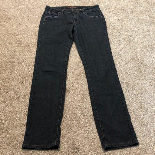 Jeans - black skinny jeans, Crest, 7/8