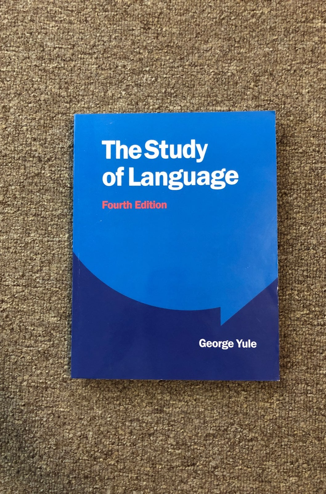 The Study Of Language 4th Edition Yule