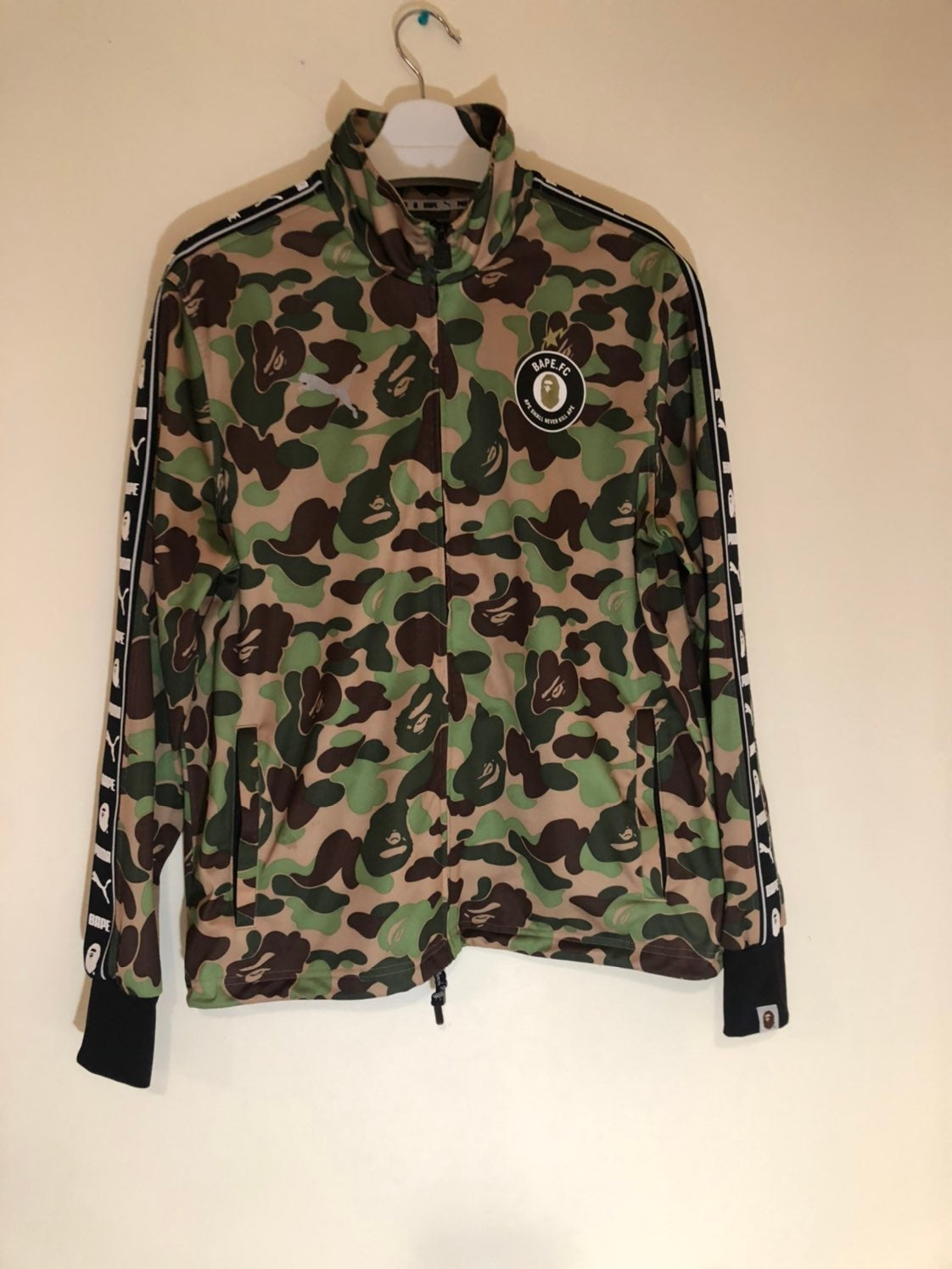 Bape Puma ABC Camo Training Jacket Large