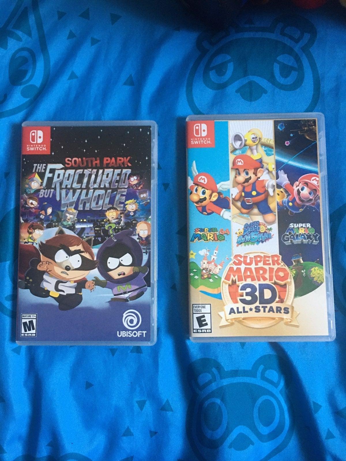Super Mario 3D All Stars & South Park
