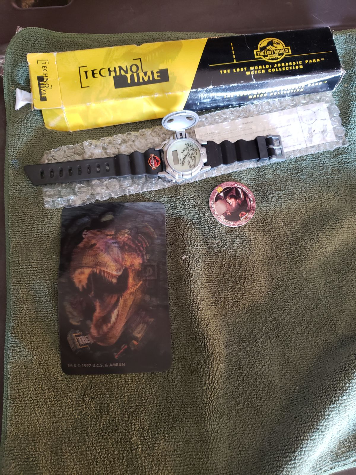 Jurassic Park the lost world watch and 3