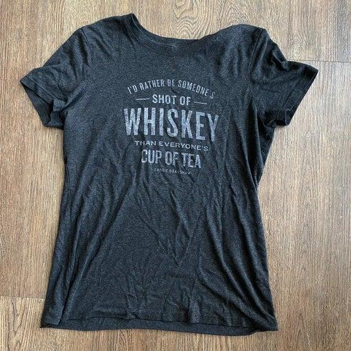 Shot of whiskey tshirt