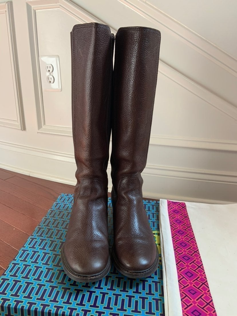 Tory Burch Christy Riding Boots sz 7.5