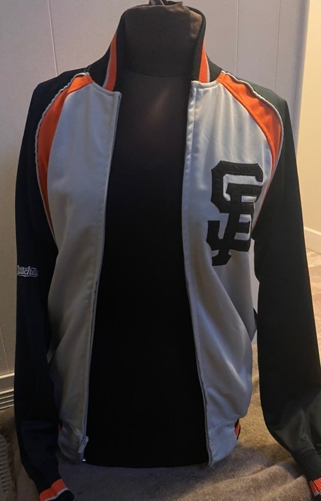 SF Giants Mens Small Track Jacket