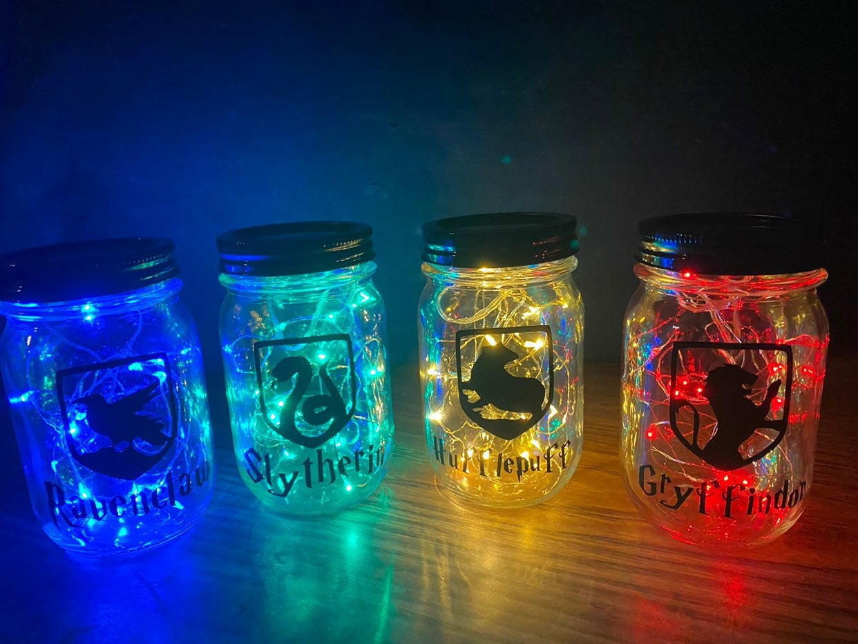 Harry Potter Light Up Jars