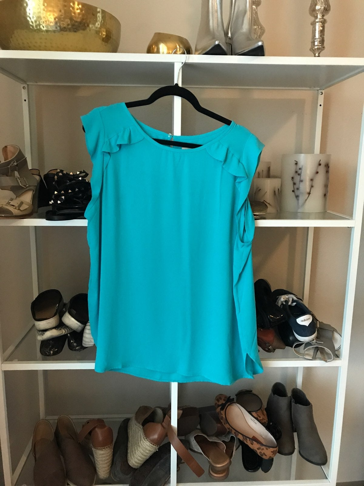 XL Turquoise Top