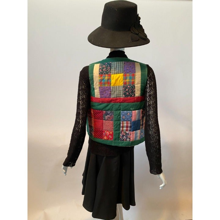 Handmade Patchwork Vest