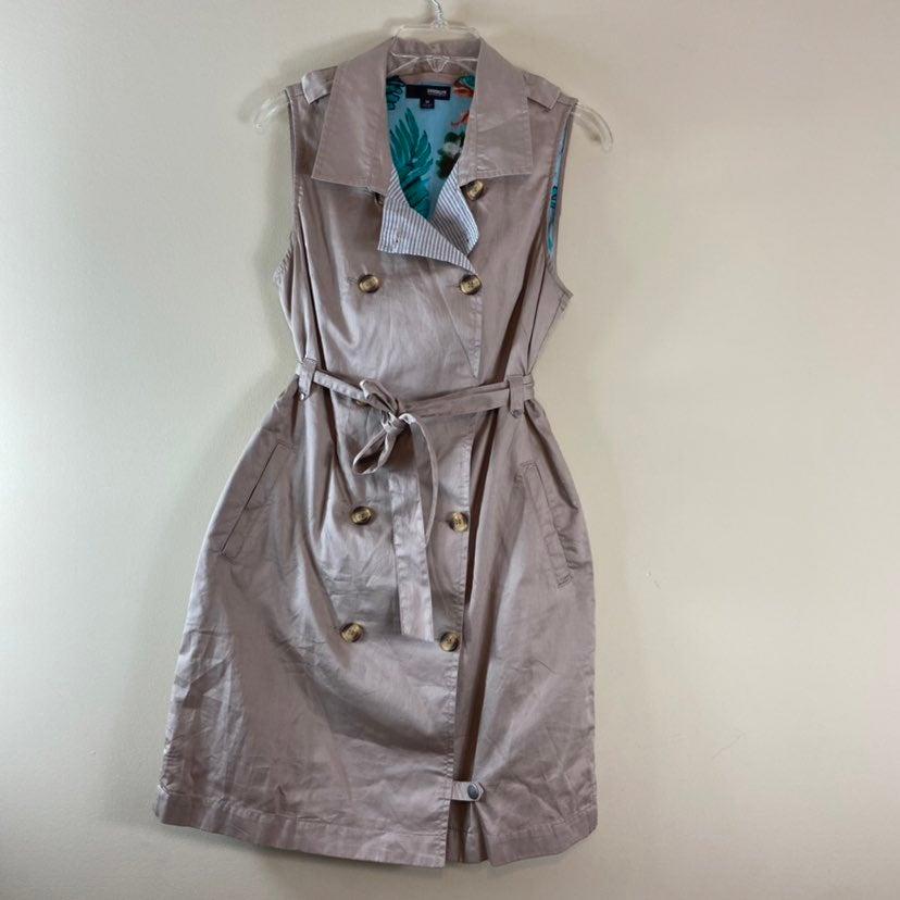 Brooklyn Industries Khaki Casual Belted Dress
