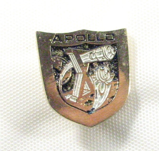 Apollo X NASA Space Mission Logo Lapel