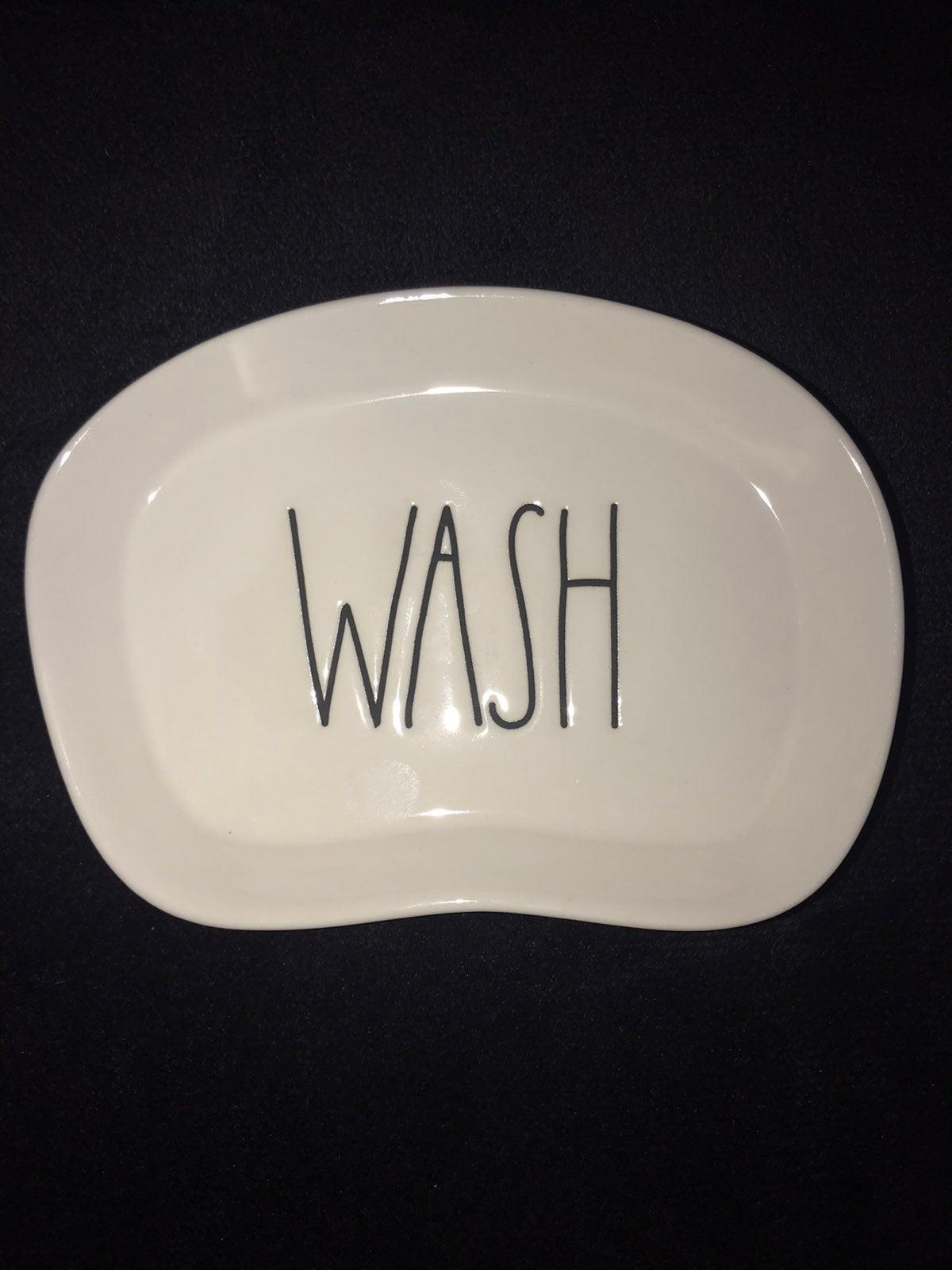Rae Dunn Wash Soap Dish