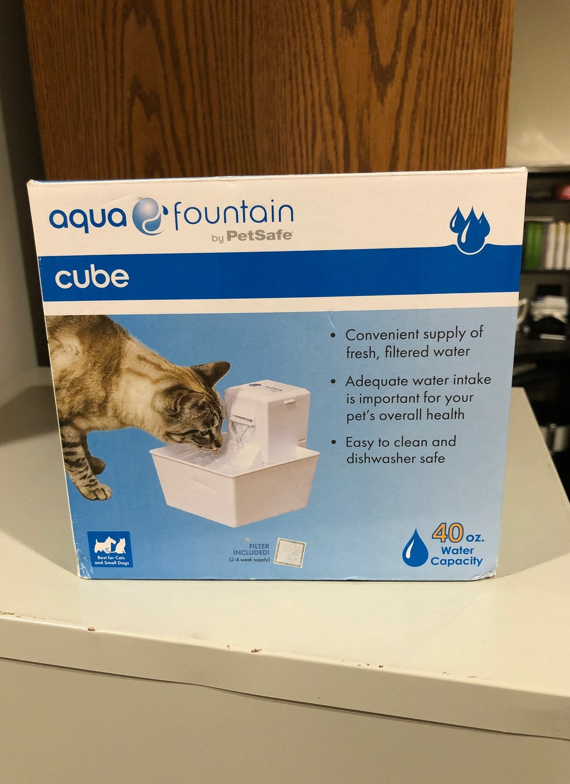 Agua Fountain Pet Safe Cube