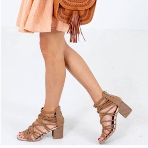DV by Dolce Vita Taupe Andira Sandals