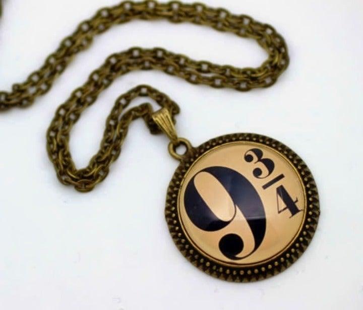 Harry Potter Inspired Artwork Necklace