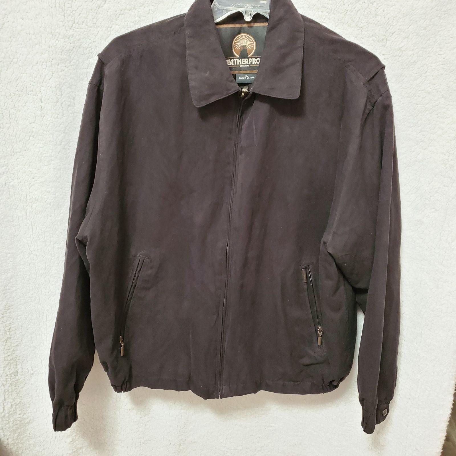 """Weatherproof"" Microsuede Jacket in SzXL"