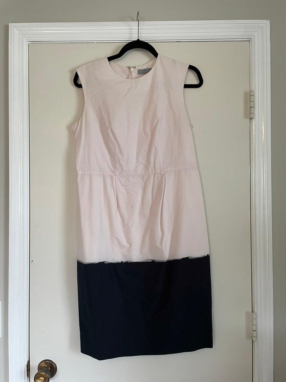 COS Sleeveless dress 38 6 pink black