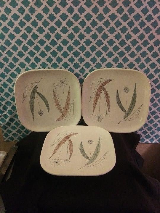 Franciscan Vintage Plates Dandelions?