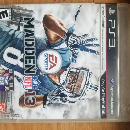 Madden 13 on Playstation 3