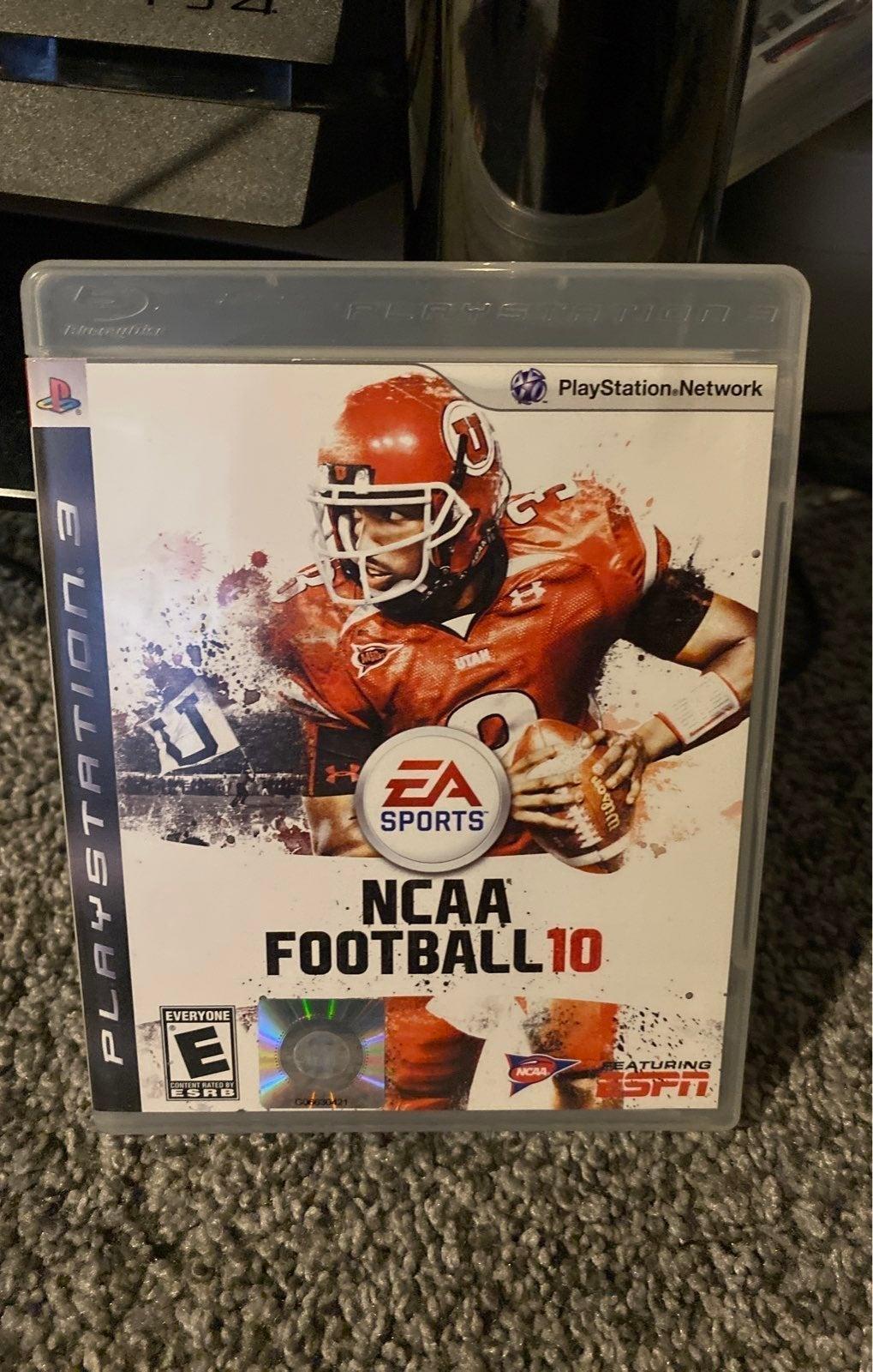 NCAA Football 10 on Playstation 3