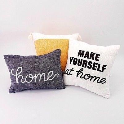 Target BP Home Pillow Set