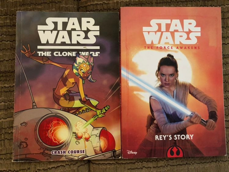 Star Wars 2 book lot