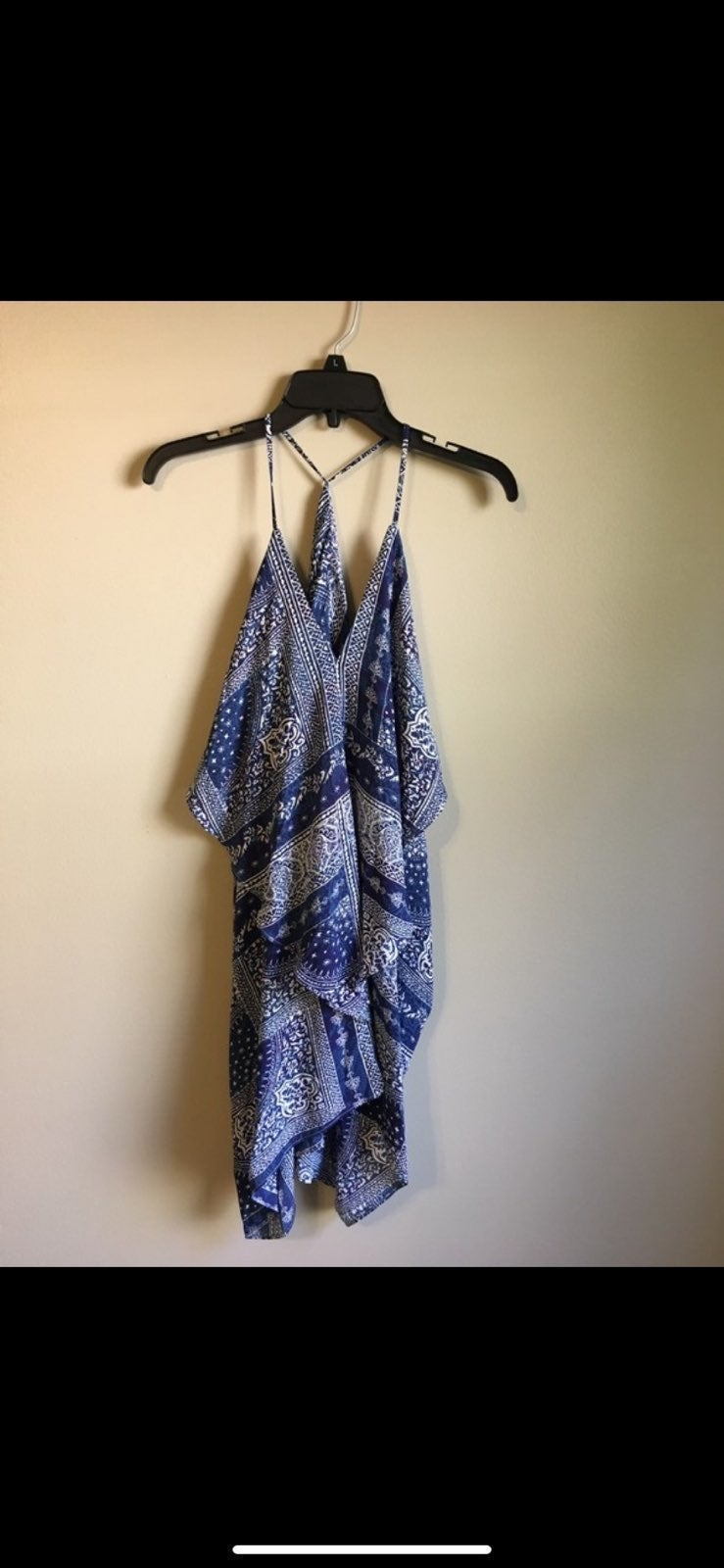 Oliveacious small blue dress