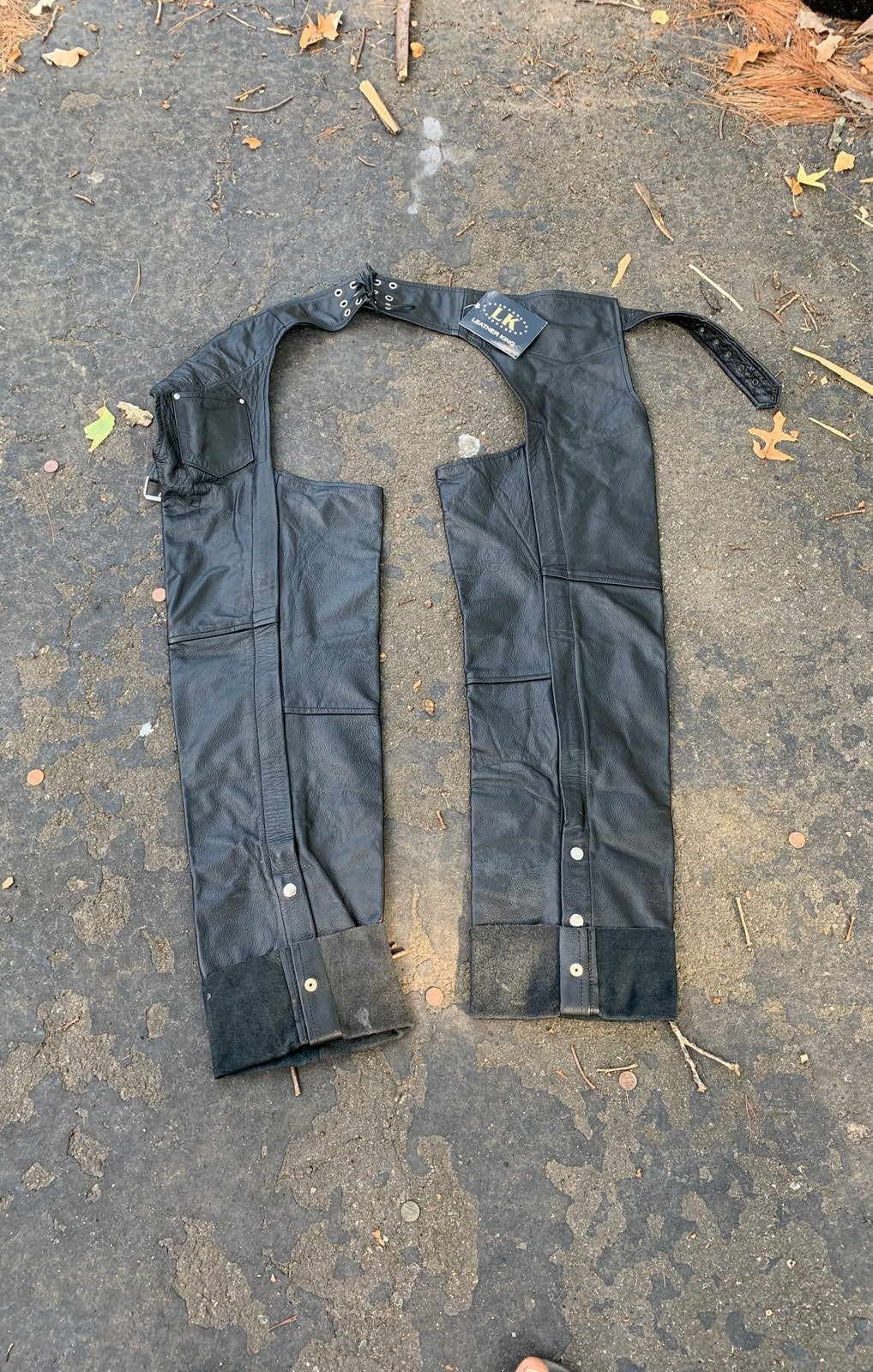 Leather King Chaps Style 1115